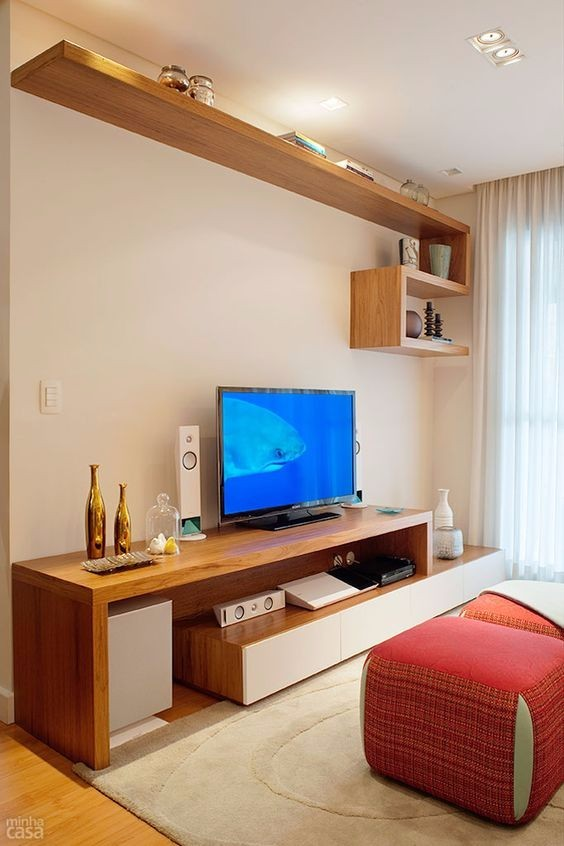 cabinet tv apartment