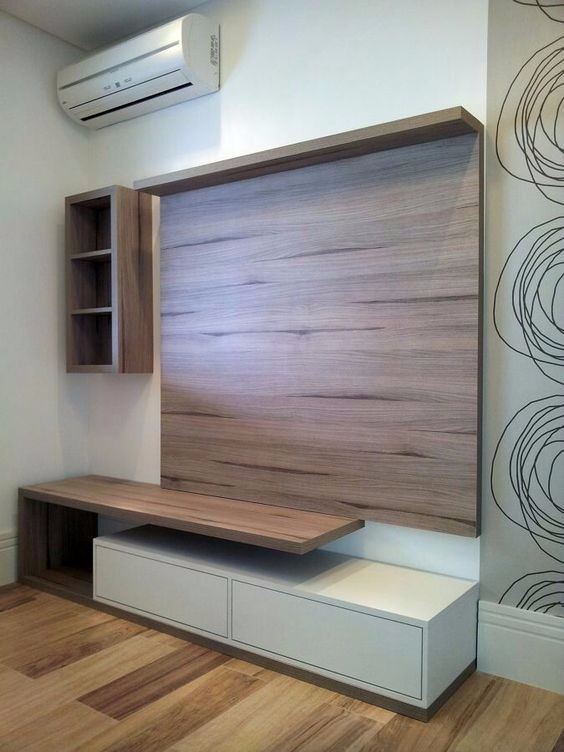TV Stand & Shelves hpl
